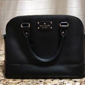Kate spade satchel black